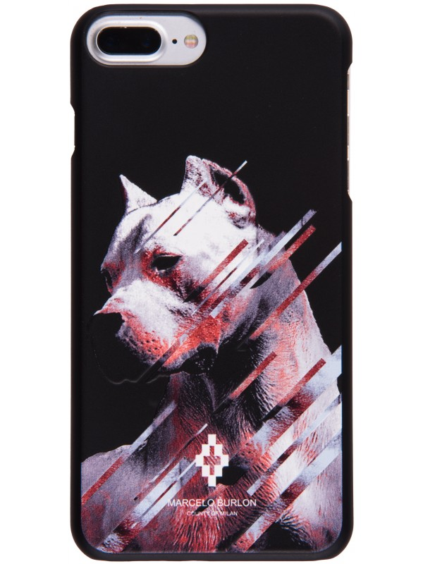 MARCELO BURLON COVER MULTICOLOR DOG PRINT IPHONE 6/7/8 PLUS