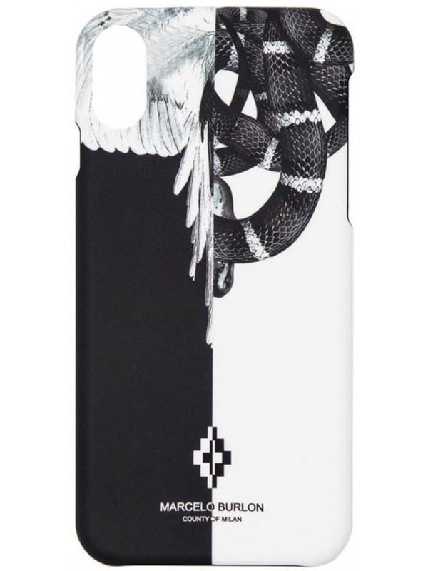 MARCELO BURLON COVER IPHONE  X - XS SNAKEWING
