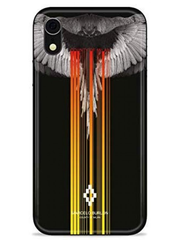 MARCELO BURLON COVER IPHONE XR WINGS BLACK