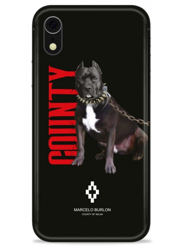 MARCELO BURLON COVER IPHONE XR WITH DOG